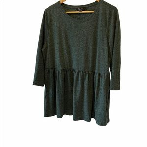 NEW LOOK MATERNITY Green Cotton 3/4 Sleeve Top 12